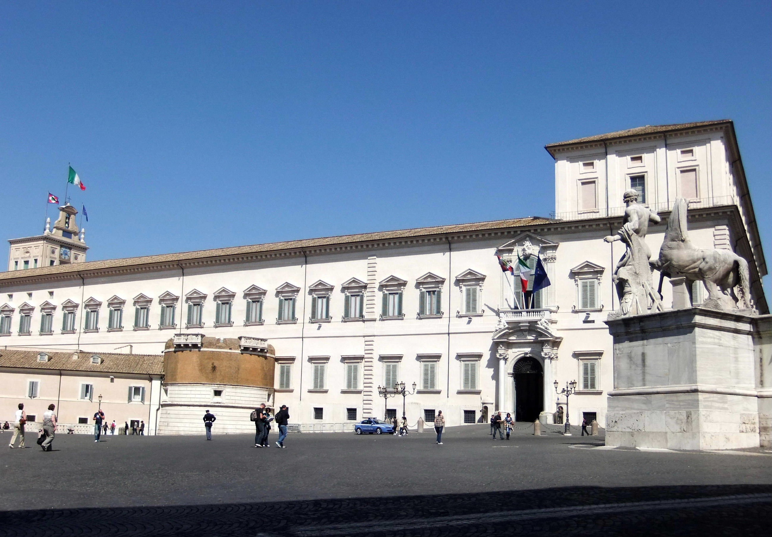 Quirinal Palace opening 2015 Rome