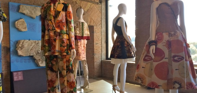L'Eleganza del Cibo, Tales on Food & Fashion exhibit Rome 2015